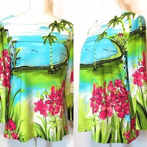 Investments printed top, Sz large, multicolored